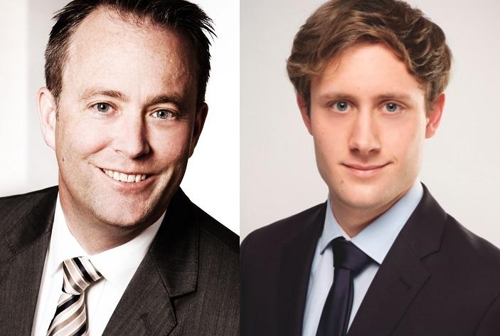 Per-Alexander Zimmermann (li.) und Thies Rathmann