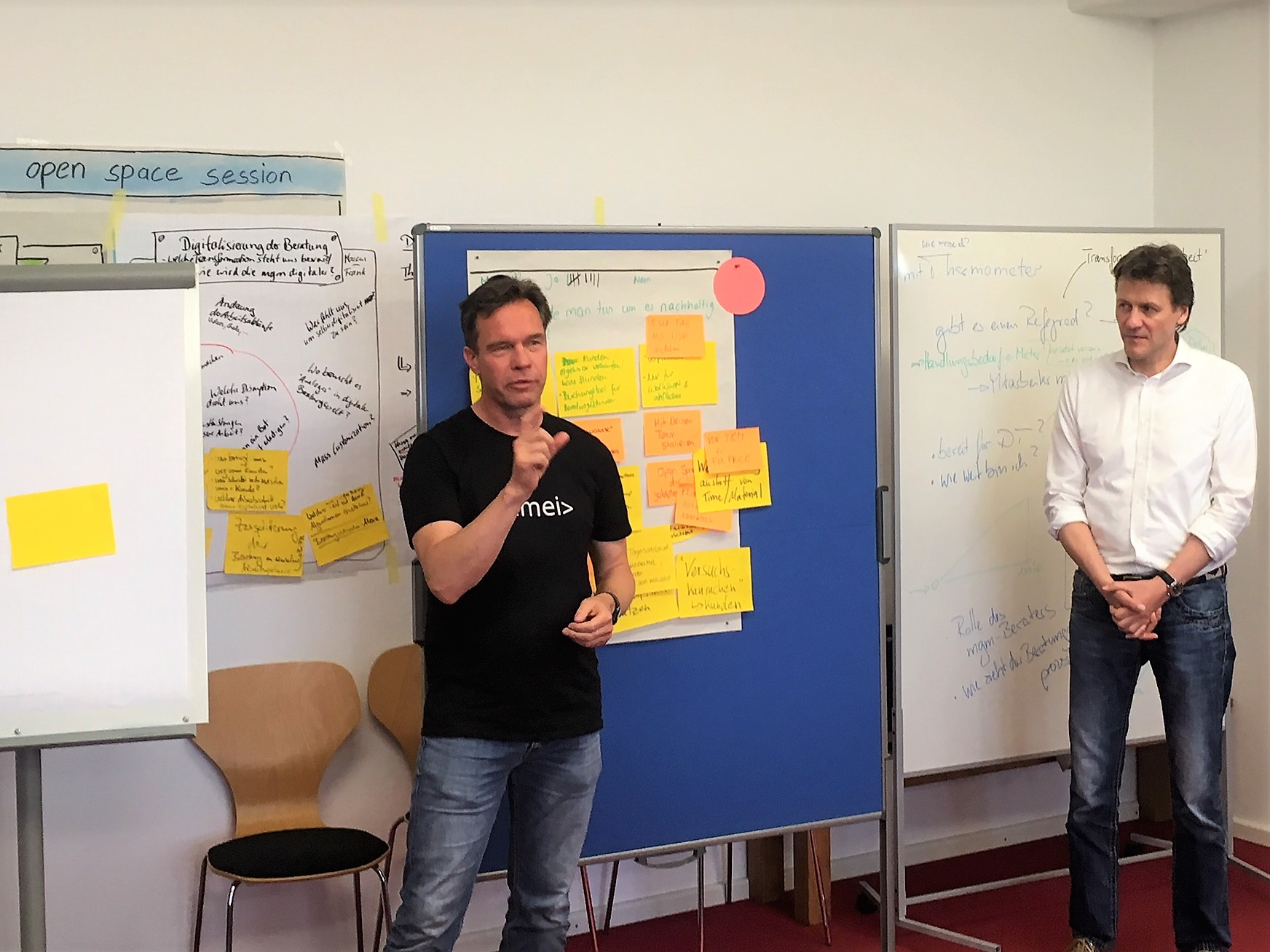 Thementag-Organisator Peter Schirmanski