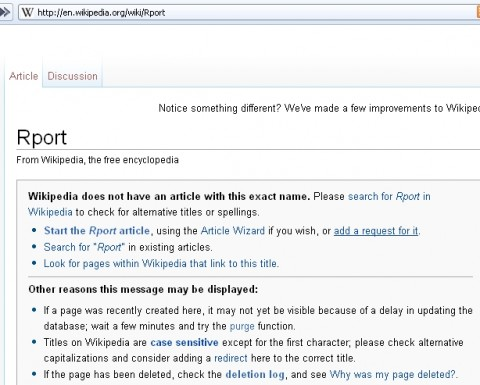 Wikipedia suggests its articles based on the user's input.