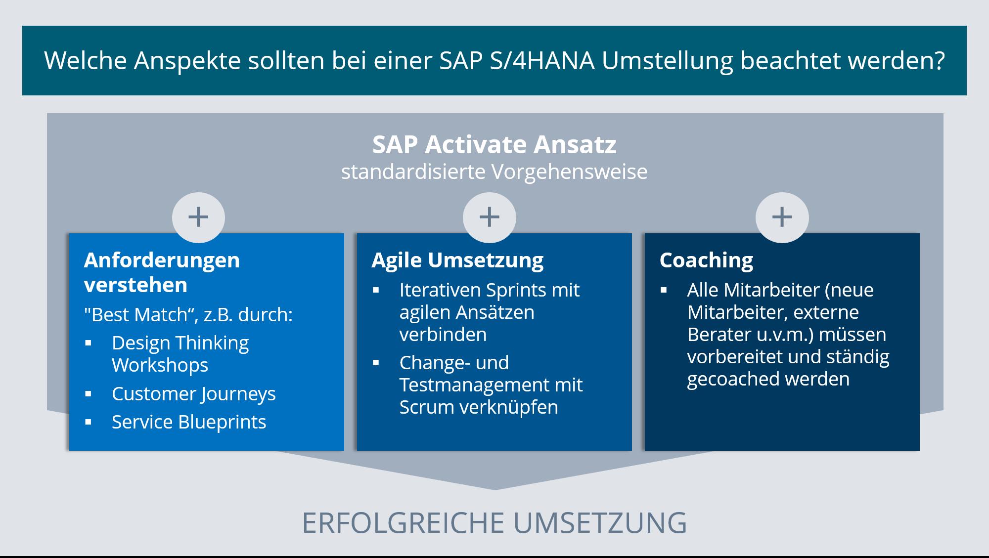 Projektmanagement SAP S/4HANA Umstellung Automobilindustrie